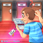 Room 404 - Webcomic about programming, web design and web browsers