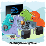 EA Games - Webcomic about programming, web design and web browsers